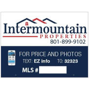 Intermountain MLS For Sale Yard Sign